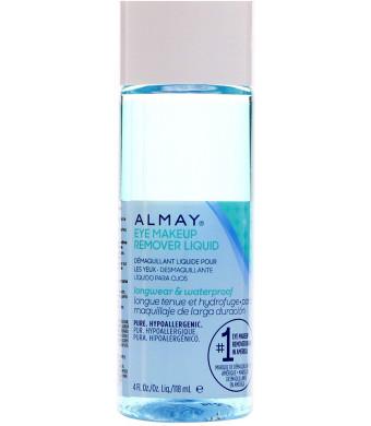 Alm Eye Mkup Removr Lgwr Size 4 Almay Longwear and Waterproof Gentle Eye Makeup Remover Longwear Liquid 4oz