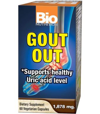 Bio Nutrition Gout Out Vegi-Caps (1-Pack of 60)