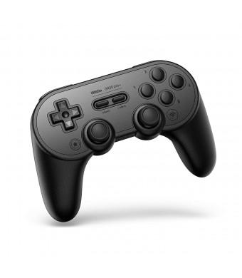8Bitdo Sn30 Pro+ Bluetooth Gamepad (Black Edition) - Nintendo Switch