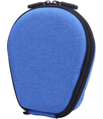 Carrying case for AfterShokz Trekz Titanium/Mini/Air Bone Conduction Headphones by Aenllosi (Blue)