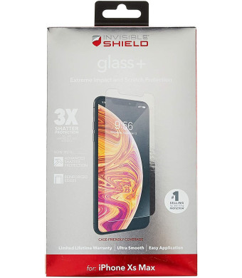 ZAGG InvisibleShield Glass+ Screen Protector for Apple iPhone Xs Max