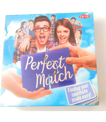 Perfect Match Board Game Rare NEWFind Your True Soulmate with This Rib-Tickling Party Game!
