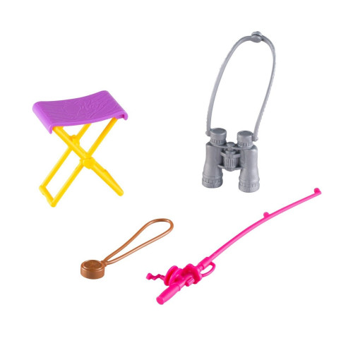 Barbie Camping Fun Accessory Pack Fishing Pole Compass