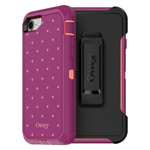 otterbox defender series case for iphone 8 and iphone 7 not plus frustration free packaging. Black Bedroom Furniture Sets. Home Design Ideas