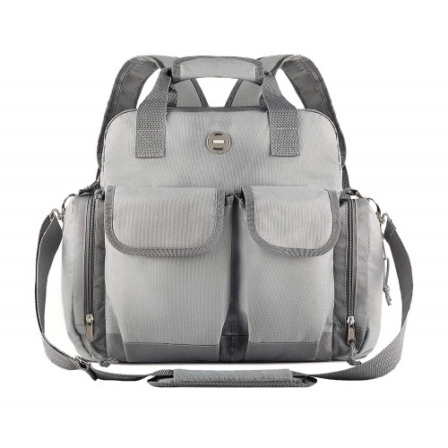 Baby Diaper Bag Backpack : Big Waterproof Nappy Bag for Mom and Dad Stylish and Durable Baby Bag for Boys and Girls Travel Tote Adjustable Stroller