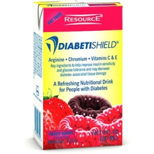 Diabetishield Clear liquid supplemen for people with Diabetes, Mixed Berry 27 X 8-Ounce