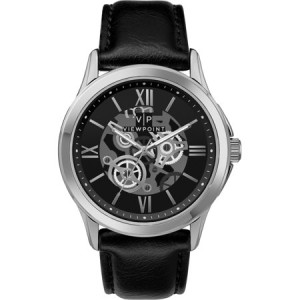 Viewpoint by Timex Men's 42mm Black Dial Watch, Black Strap