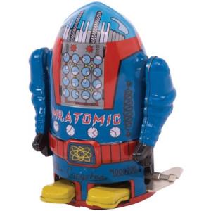 "Schylling Vintage Mr. Atomic Robot, 4"""