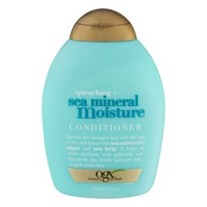 OGX Quenched Sea Mineral Moisture Conditioner, 13 Oz