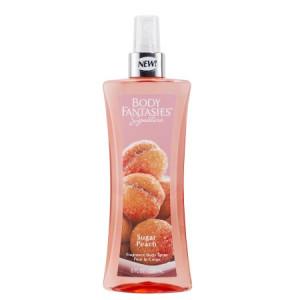 Body Fantasies Sugar Peach Body Spray, 8 fl.oz.