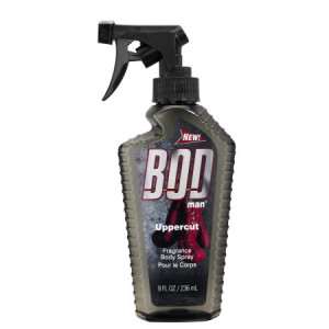 BOD Man Uppercut Fragrance Body Spray for Men, 8 fl oz