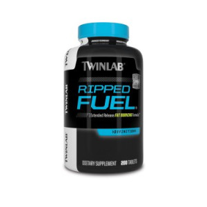 Twinlab Ripped Fuel Extended Release Fat Burning Formula 200 Tablets