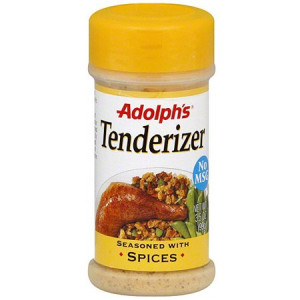 Adolph's Seasoned Tenderizer With Spices, 3.5 oz (Pack of 12)