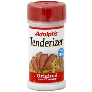 Adolph's Original Unseasoned Tenderizer, 3.5 oz (Pack of 12)