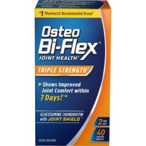 Osteo Bi-Flex: Dietary Supplement Glucosamine Chondroitin Msm w/Joint Shield, 40 Ct
