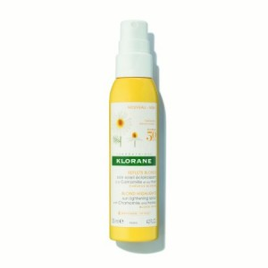 Klorane Sun Lightening Spray with Chamomile and Honey, 4.2 Oz