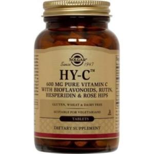 Solgar Hy-C (600 mg Vitamin C with 100 mg Bioflavonoids) Tablets, 250 Ct