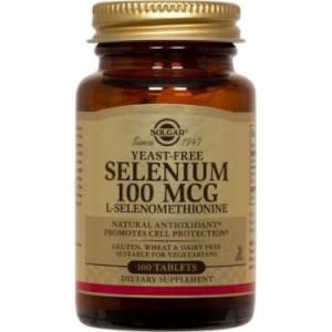 Solgar Selenium Yeast Free 100 mcg - 100 Tablets