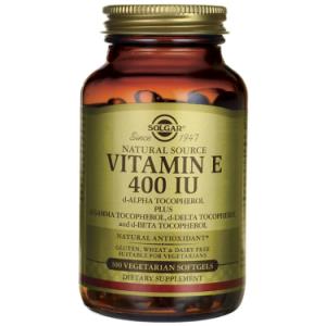 Solgar Vitamin E 400 IU Vegetarian Softgels, 100 Ct