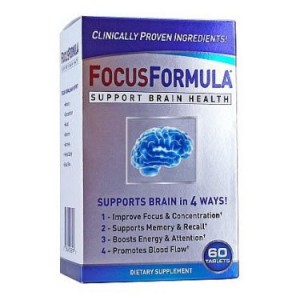 Windmill Health Products FocusFormula Brain Health Support Tablets, 60 Ct