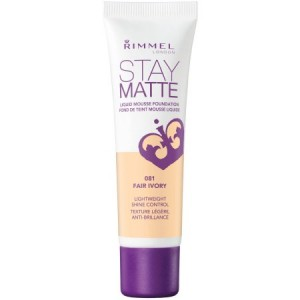 Rimmel London Stay Matte Liquid Mousse Foundation, Sand