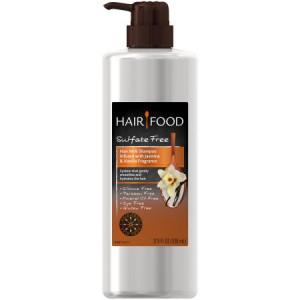 Hair Food Sulfate Free Hair Milk Shampoo Infused with Jasmine & Vanilla Fragrance, 17.9 fl oz