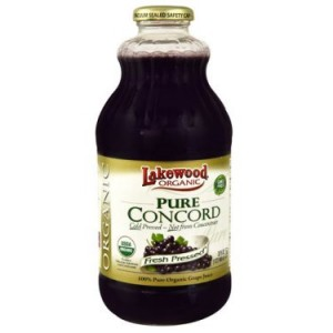 Lakewood Organic Juice, Concord Grape, 32 Fl Oz, 1 Count