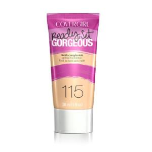COVERGIRL Ready, Set Gorgeous Liquid Makeup Foundation, Soft Sable