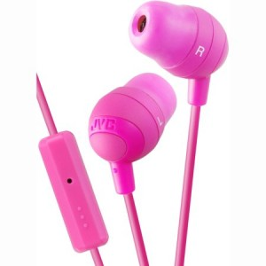 JVC Marshmallow Inner Ear Headphones With Mic