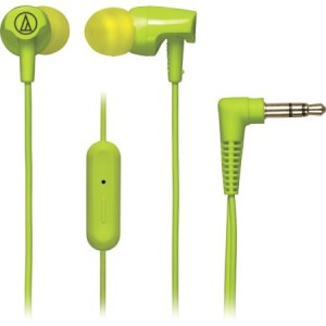 Audio-Technica SonicFuel In-Ear Headphones with In-Line Mic and Control