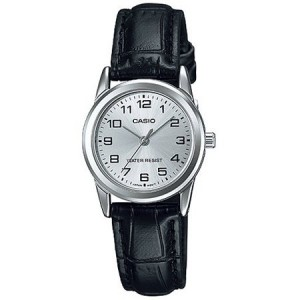 Casio Leather Ladies Watch LTP-V001L-7B