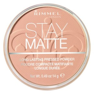Rimmel Stay Matte Pressed Powder, Sandstorm 004, .49 oz (14g)