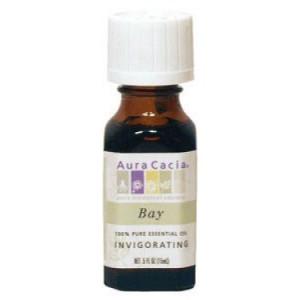 Aura Cacia Pure Essential Oil, Bay, 0.5 Fl Oz