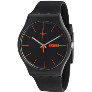 Swatch Dark Rebel Men's Watch, SUOB704