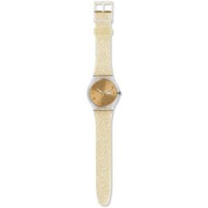 Swatch Golden Sparkle Ladies Watch SUOK704