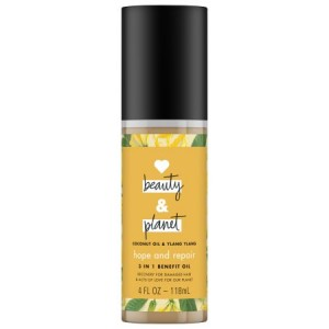 Love Beauty And Planet Hope and Repair Hair Oil Coconut Oil & Ylang Ylang 4 oz