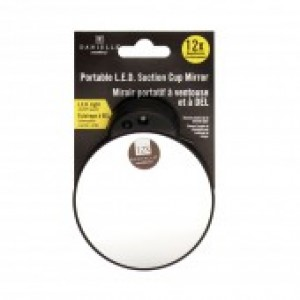 DEBUT - Suction Lite Mirror - Assorted 10X