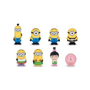 Despicable Me 3 Micro Minion Figurines 8-pieces Gift Set