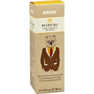 Brisk Beard Oil - Citrus 1.7 fl. oz.