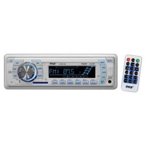 MARINE RADIO PYLE AM/FM/W.BAND; REMOTE; CARDREADER + USB PORT