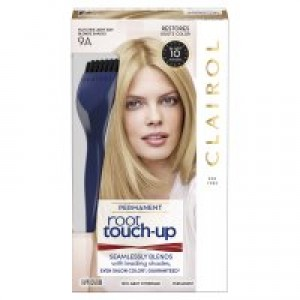 Clairol Nice 'n Easy Root Touch-Up Permanent Hair Color, Light Ash Blonde, 9A