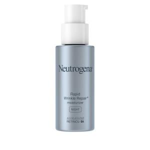 Neutrogena Rapid Wrinkle Repair Accelerated Retinol SA Night Moisturizer, 1 fl. oz