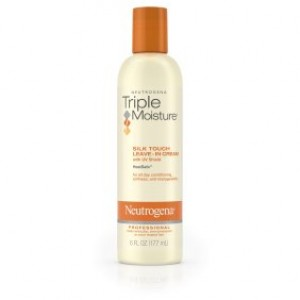 Neutrogena Triple Moisture Silk Touch Leave-In Cream For Dry And Damaged Hair, 6 Fl. Oz.
