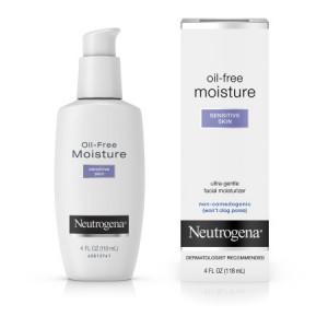 Neutrogena Oil-Free Daily Sensitive Skin Facial Moisturizer, 4 fl. oz