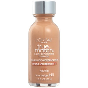 L'Oreal Paris True Match Super Blendable Foundation, N5 True Beige