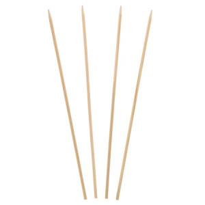 "Royal Wood Skewers, 10"" x 0.125"", 1000 Ct"