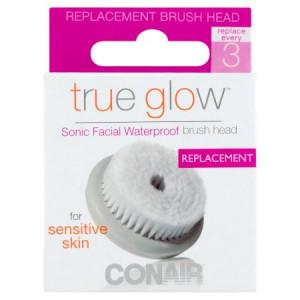 Conair True Glow Sonic Facial Waterproof Brush Head