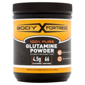 Body Fortress 100% Pure, Glutamine Powder, 66 Servings