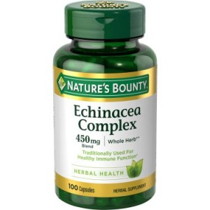 Nature's Bounty Echinacea Complex Capsules, 450 Mg, 100 Ct