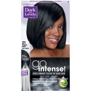 SoftSheen-Carson Dark and Lovely Go Intense Ultra Vibrant Color on Dark Hair